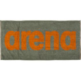 arena Gym Soft Asciugamano arancione/verde oliva